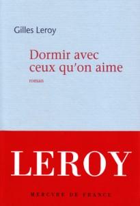 Livre Dormir Avec de Gilles LEROY