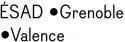 Logo Ecole Supérieure d'Art et Design - Grenoble - Valence