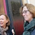 La sociologue Irène Théry (à gauche), Festival Vues d'en face, dimanche 12 avril 2015