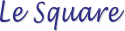 Logo Librairie Le Square